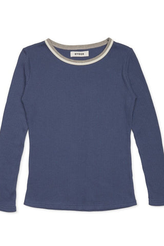 Ryder Berty Rib Top Blue