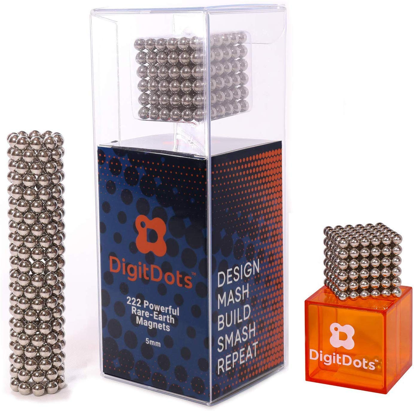 Authentic 5mm DigitDots 222 Pieces Magnetic Balls