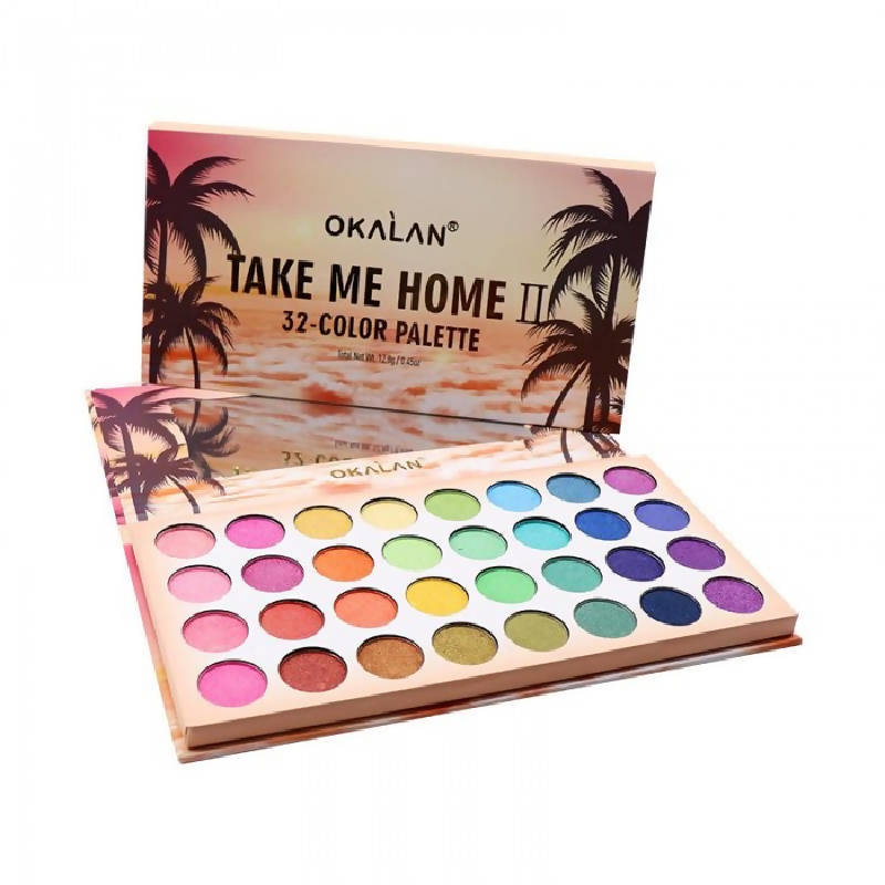 Paleta de sombras Take me home II