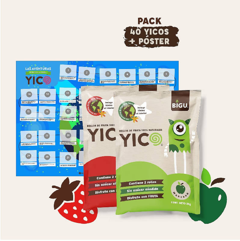 Pack 40 YICOS + Póster