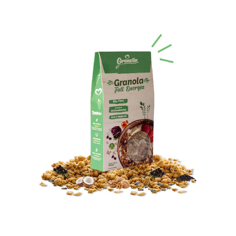 Pack Duo 400g Granola Full Energía + Topping