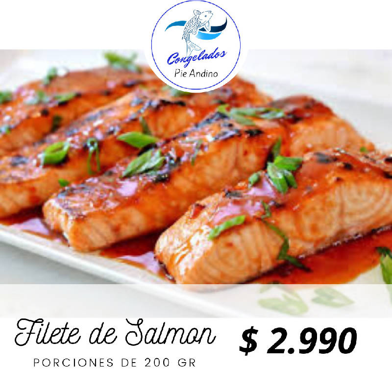 Filete de Salmon stick 200 gr