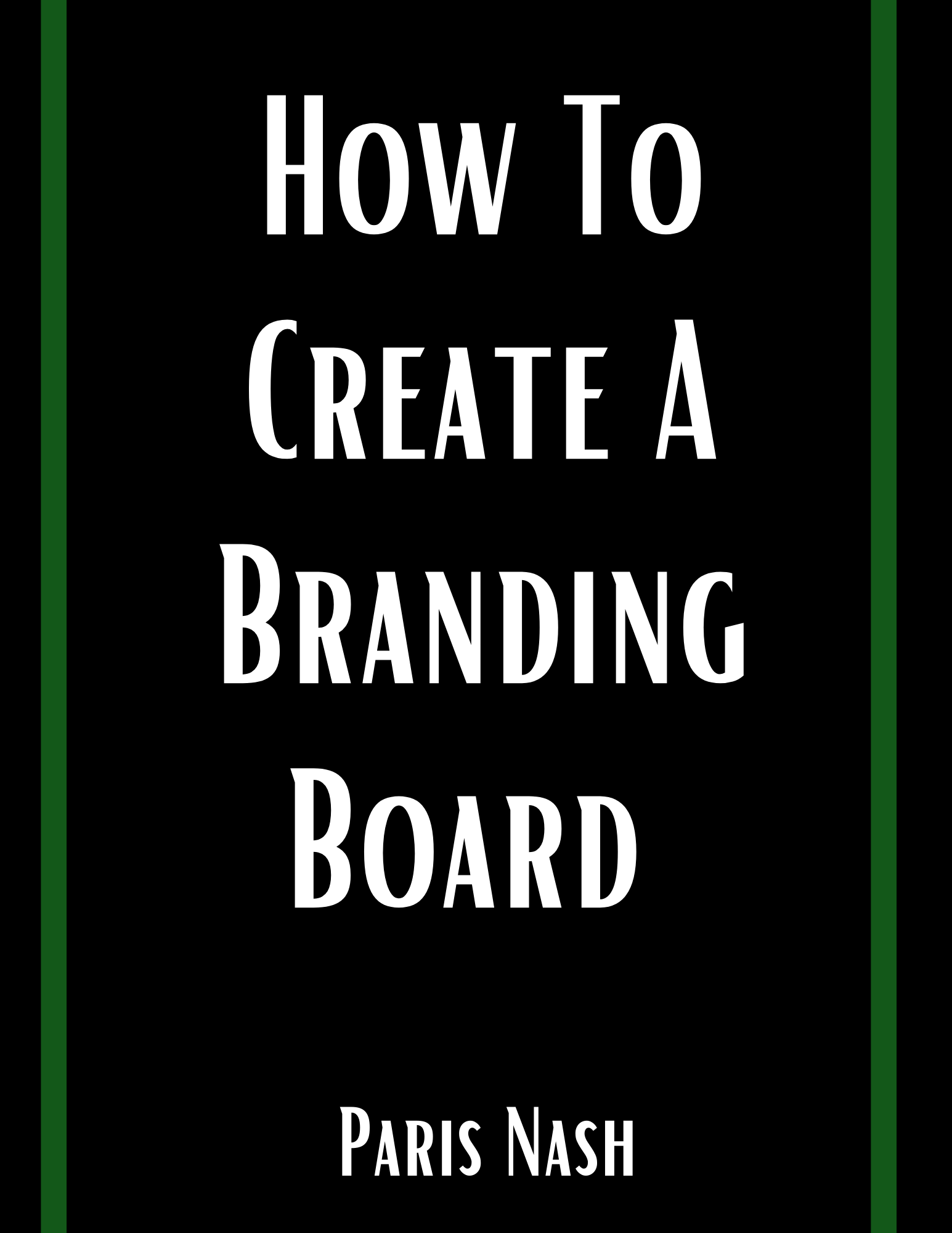 How To Create a Branding Board