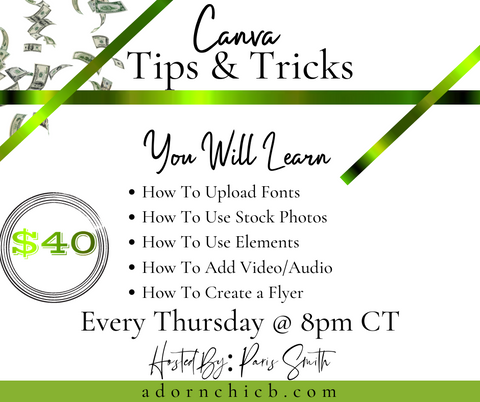 Canva Tips & Tricks
