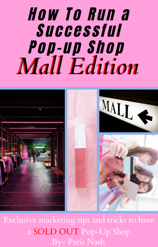 How to Run a Pop-up Shop Mall Editon