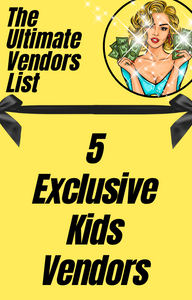Exclusive Kids Clothing Vendor