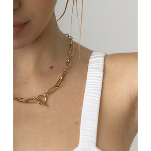 adra gold chain necklace