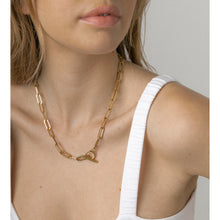 Load image into Gallery viewer, adra gold chain necklace