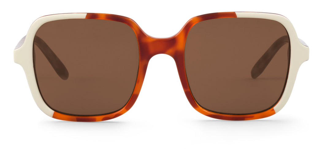 CREAM/LEO TORTOISE  BELLEVILLE W/ CLASSICAL LENSES mr boho