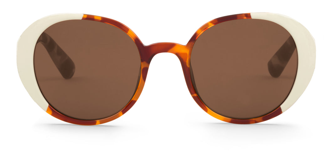 CREAM/LEO TORTOISE ARROIOS W/ CLASSICAL LENSES Mr Boho