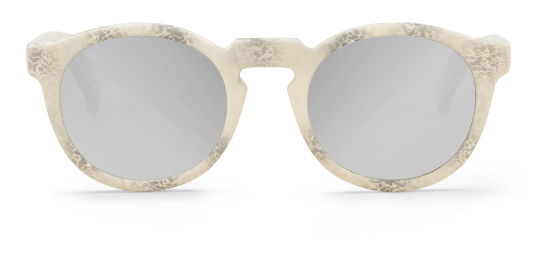 CONCRETE JORDAAN WITH SILVER LENSES Mr Boho