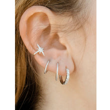 Load image into Gallery viewer, ayr silver ear cuff