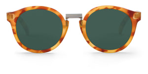 CARAMEL FITZROY WITH SILVER LENSES Mr Boho