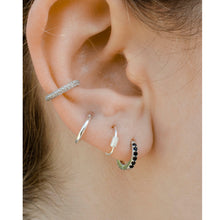 Load image into Gallery viewer, guli silver mini hoops