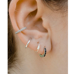 guli silver mini hoops