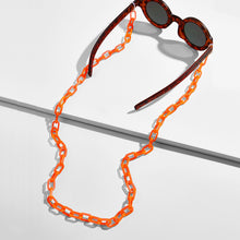 Load image into Gallery viewer, neon orange eyewear chain