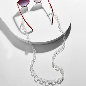 transparent eyewear chain