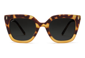 TIWI HALE RUBBER HONEY TORTOISE/HONEY WITH CLASSIC LENSES