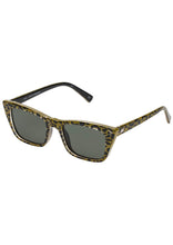 Load image into Gallery viewer, I FEEL LOVE GREEN LEOPARD Le Specs