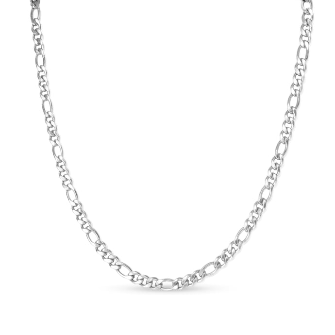 lily chain necklace silver