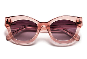 TIWI NISSA SHINY PINK WITH PINK LENSES
