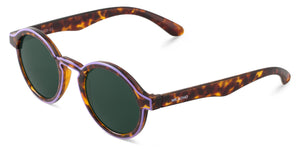 CONTOUR LILAC/CHEETAH TORTOISE DALSTON WITH CLASSICAL LENSES Mr Boho