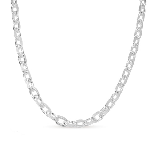 hita silver chain necklace