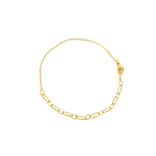 Load image into Gallery viewer, chain gold anklet