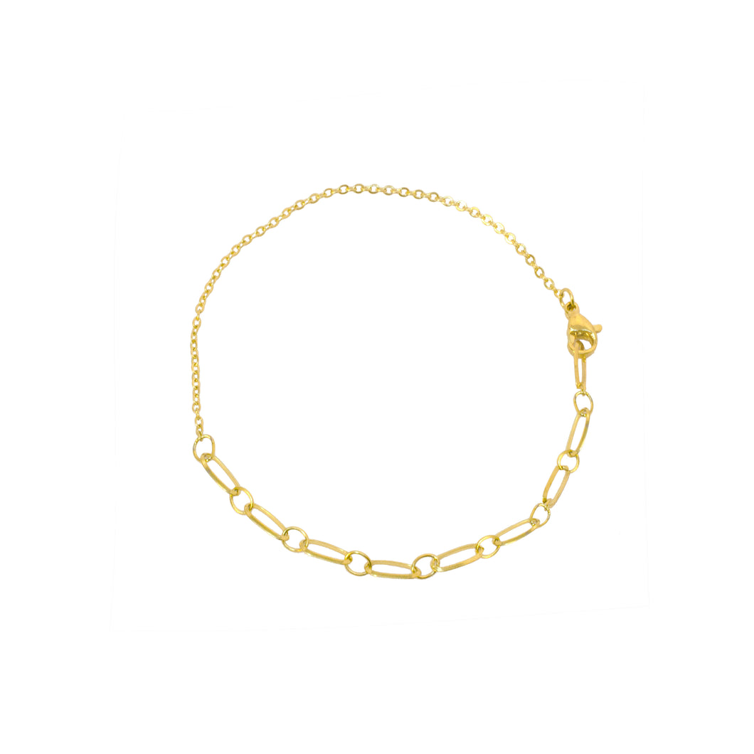 chain gold anklet