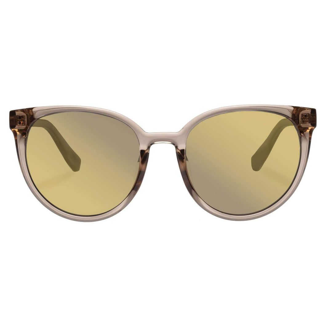 ARMADA TRANSPARENT MIRRORED GOLD Le Specs