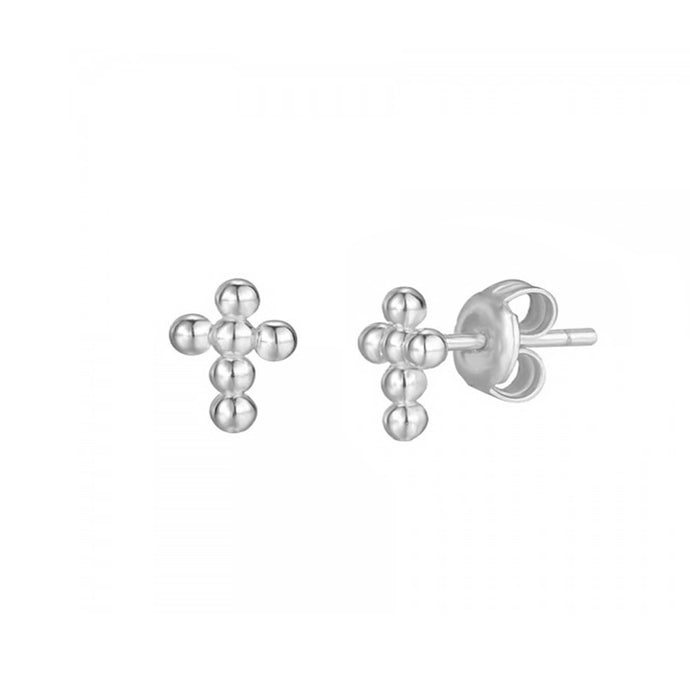 belice silver earrings