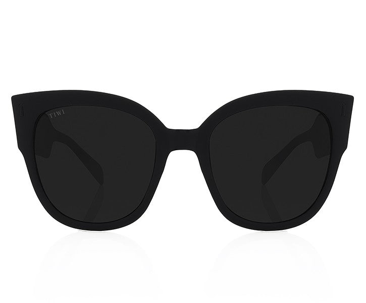 TIWI BIELA RUBBER BLACK WITH BLACK LENSES