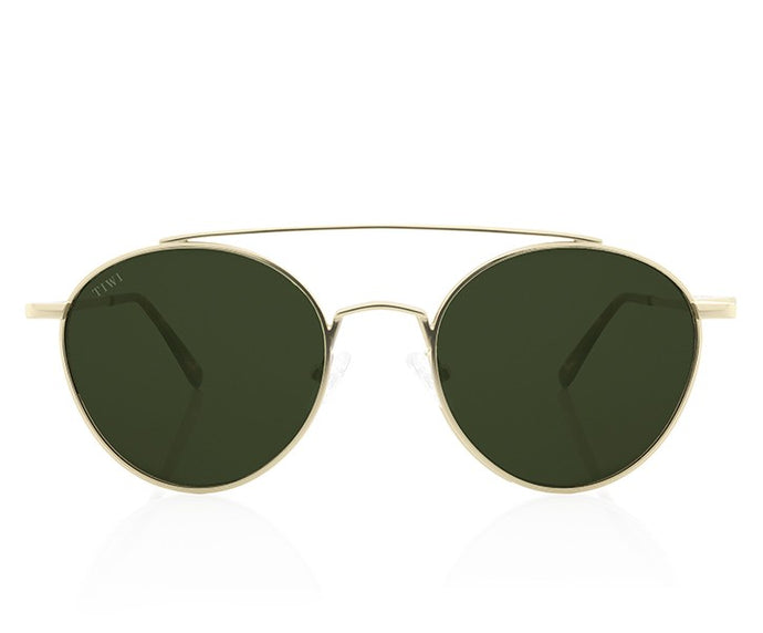 TIWI CERES GOLD WITH CLASSIC GREEN LENSES