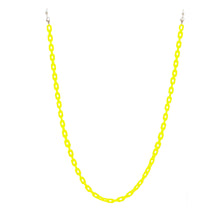 Load image into Gallery viewer, neon yellow eyewear chain