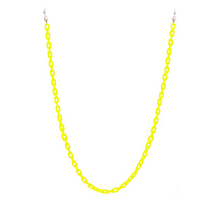 neon yellow eyewear chain