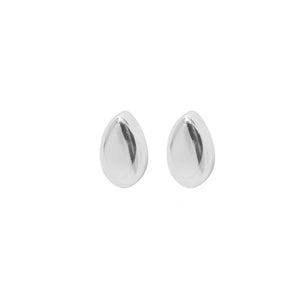 drop silver mini earrings