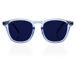 TIWI HYDRA TRANSPARENT BLUE WITH BLUE LENSES