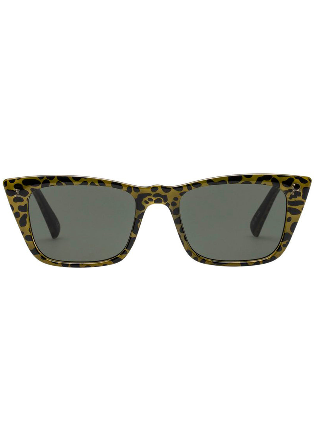I FEEL LOVE GREEN LEOPARD Le Specs