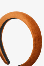 Load image into Gallery viewer, terracotta velvet headband
