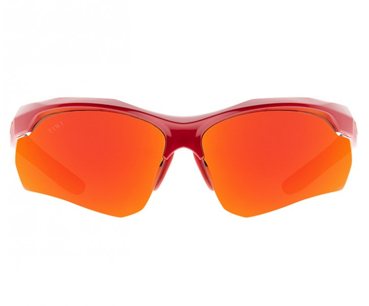 TIWI KLEE RED WITH MIRRORED ORANGE LENSES