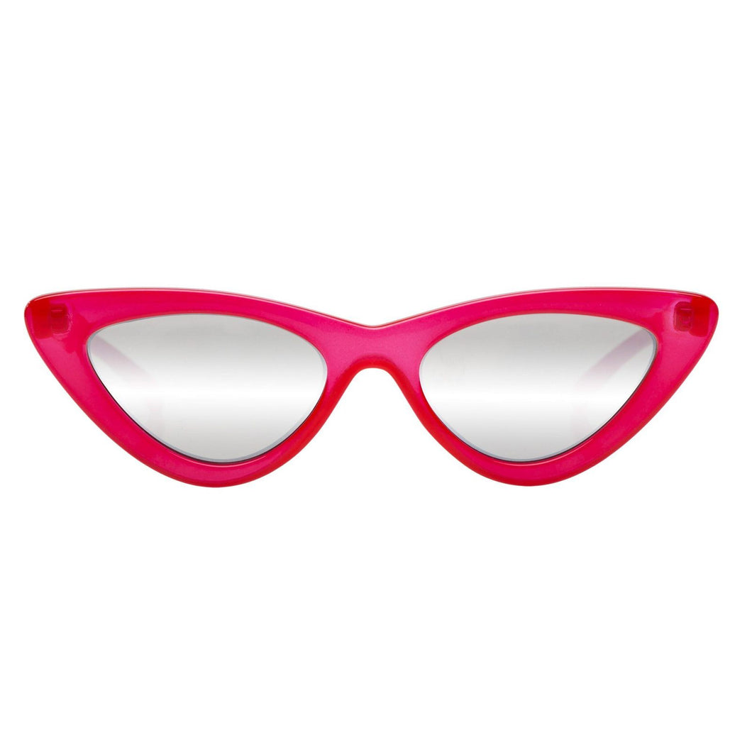 THE LAST LOLITA RED SILVER MIRRORED Le Specs