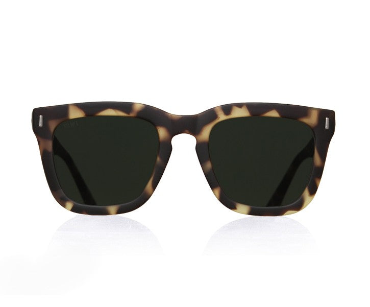 TIWI MARS RUBBER GREEN TORTOISE WITH CLASSIC GREEN LENSES