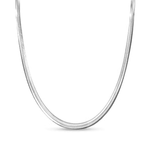 sibari silver chain necklace