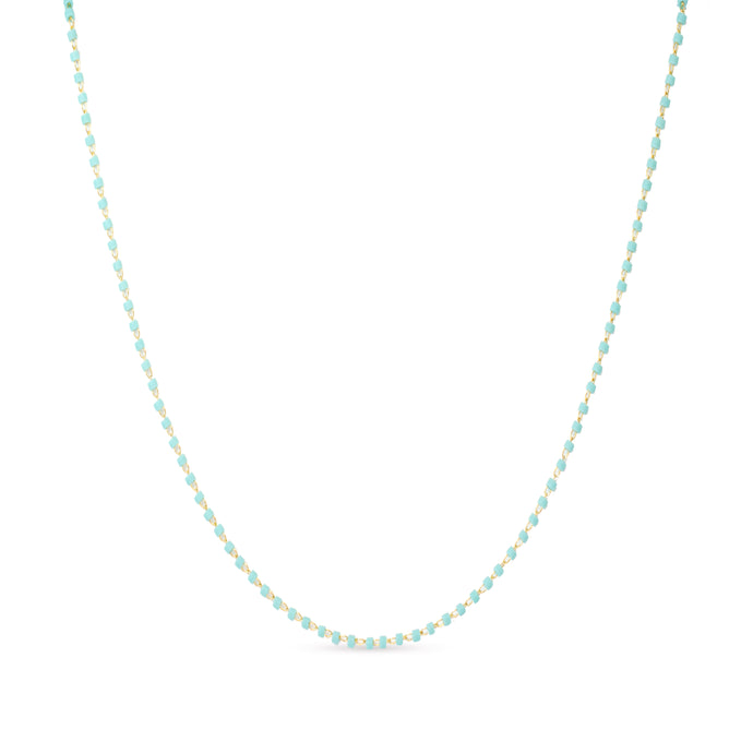 sooke necklace blue