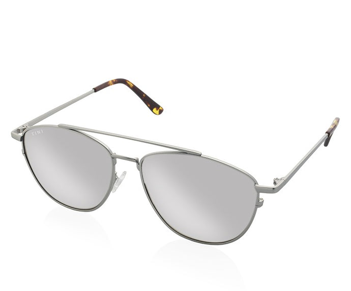 TIWI ORION SILVER WITH MIRRORED SILVER LENSES