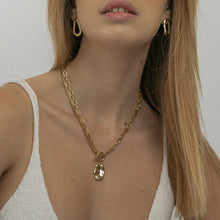 Load image into Gallery viewer, tuzla double chain pendant necklace