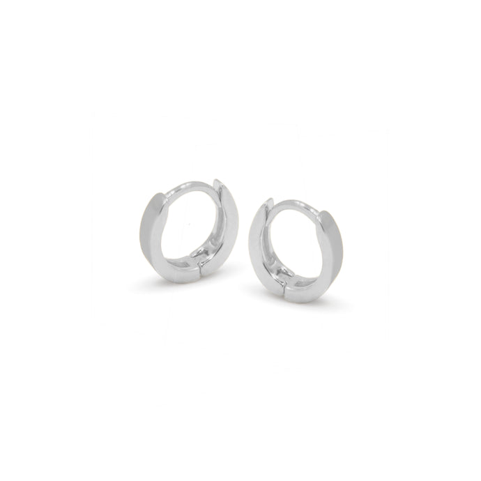 léo mini silver hoops