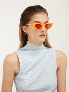 THE LAST LOLITA ORANGE MIRRORED Le Specs