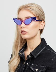 THE PROWLER PURPLE MIRRORED SILVER Le Specs