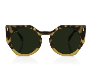 TIWI VENUS GREEN TORTOISE/GREEN WITH CLASSIC GREEN LENSES